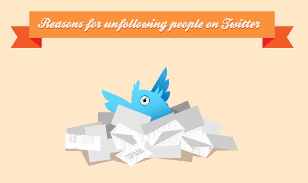 29 Reasons People Unfollow on Twitter - infographic