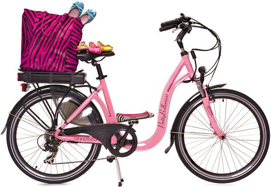 bicicleta eléctrica Pretty Ballerinas by Yamimoto
