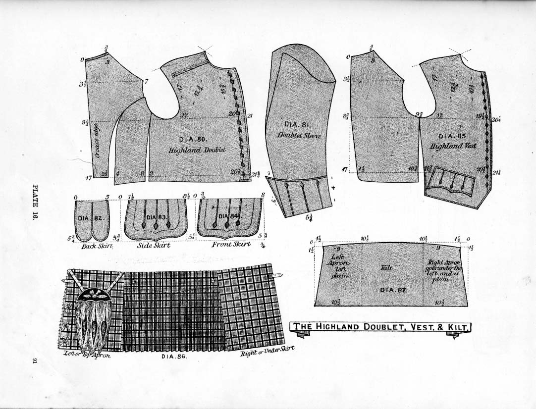 Kilt Sewing Pattern Best Decorating Design
