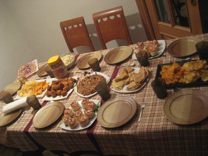 Condimentando mi vida cena informal entrada n 100 - Comida de cumpleanos en casa ...
