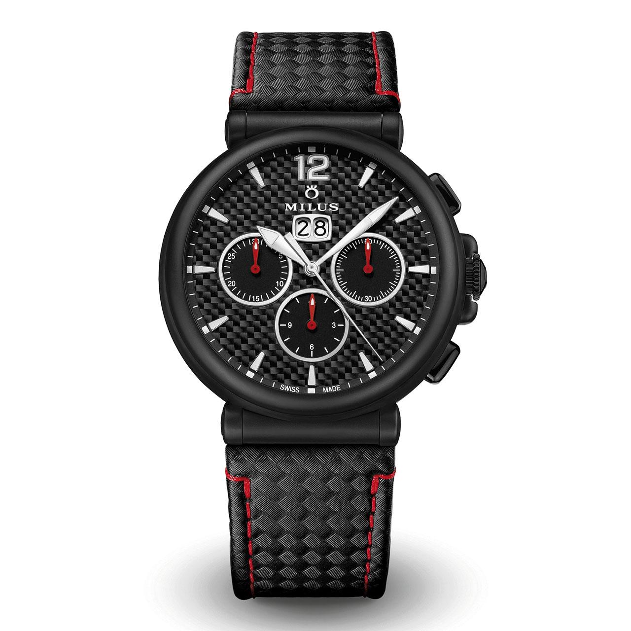 Milus Zetios Chronograph Automatic Watch