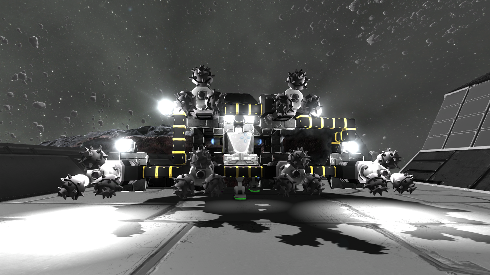 space engineers asteroid ship - photo #36