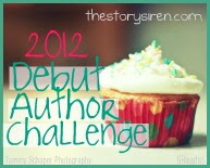2012 Debut Author Challenge