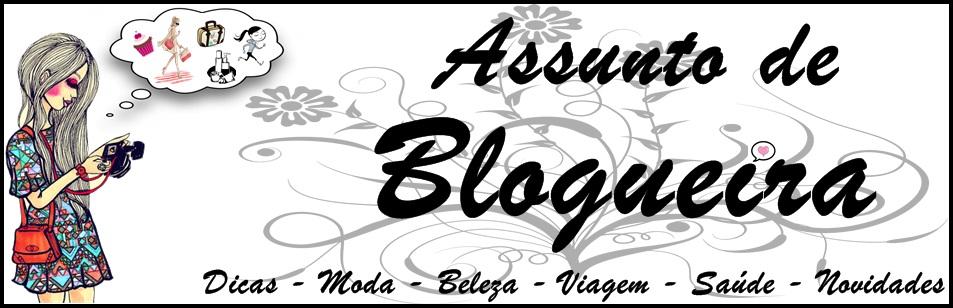 Assunto de Blogueira