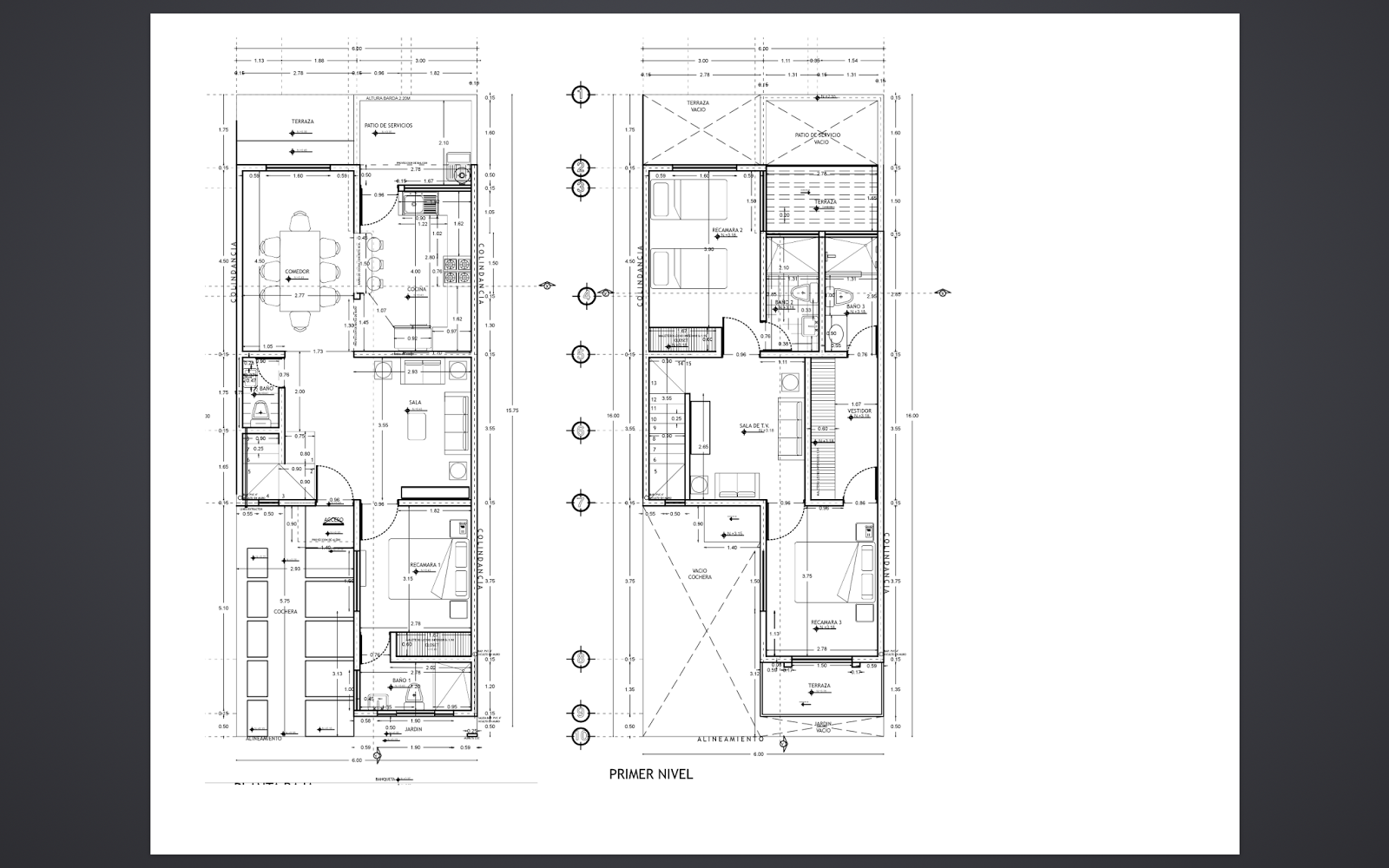 Modulación de Casa-Habitación para sistema de entramado ligero ...