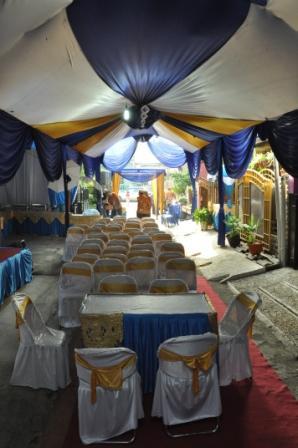 mari jadikan rumah tempat pesta pernikahan yang bagus