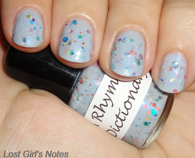 a rhyming dictionary white pearl swatches and review