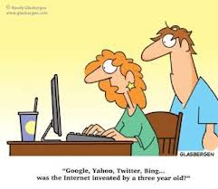 Cartoon internet invented
