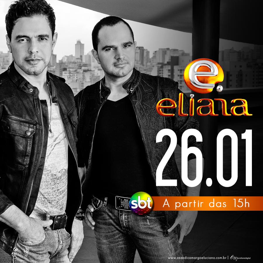 Eliana recebe Zezé Di Camargo e Luciano no quadro Rede da Fama