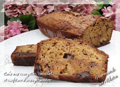 http://gourmandesansgluten.blogspot.fr/2013/08/cake-aux-courgettes-chocolat-et.html