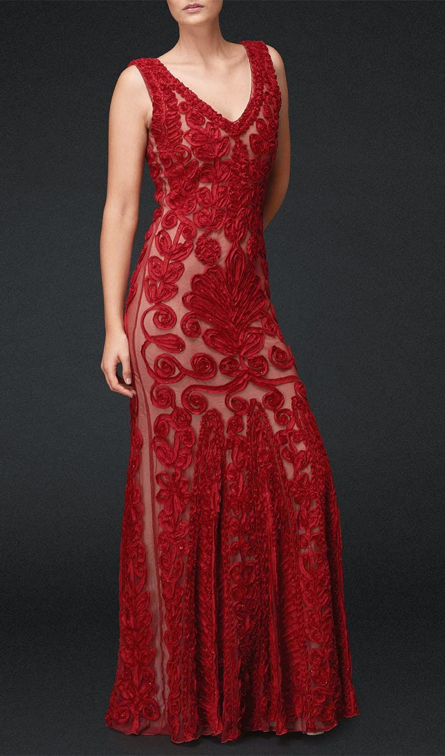 Beautiful Red Lace Wedding Dresses Photos HD Design Ideas