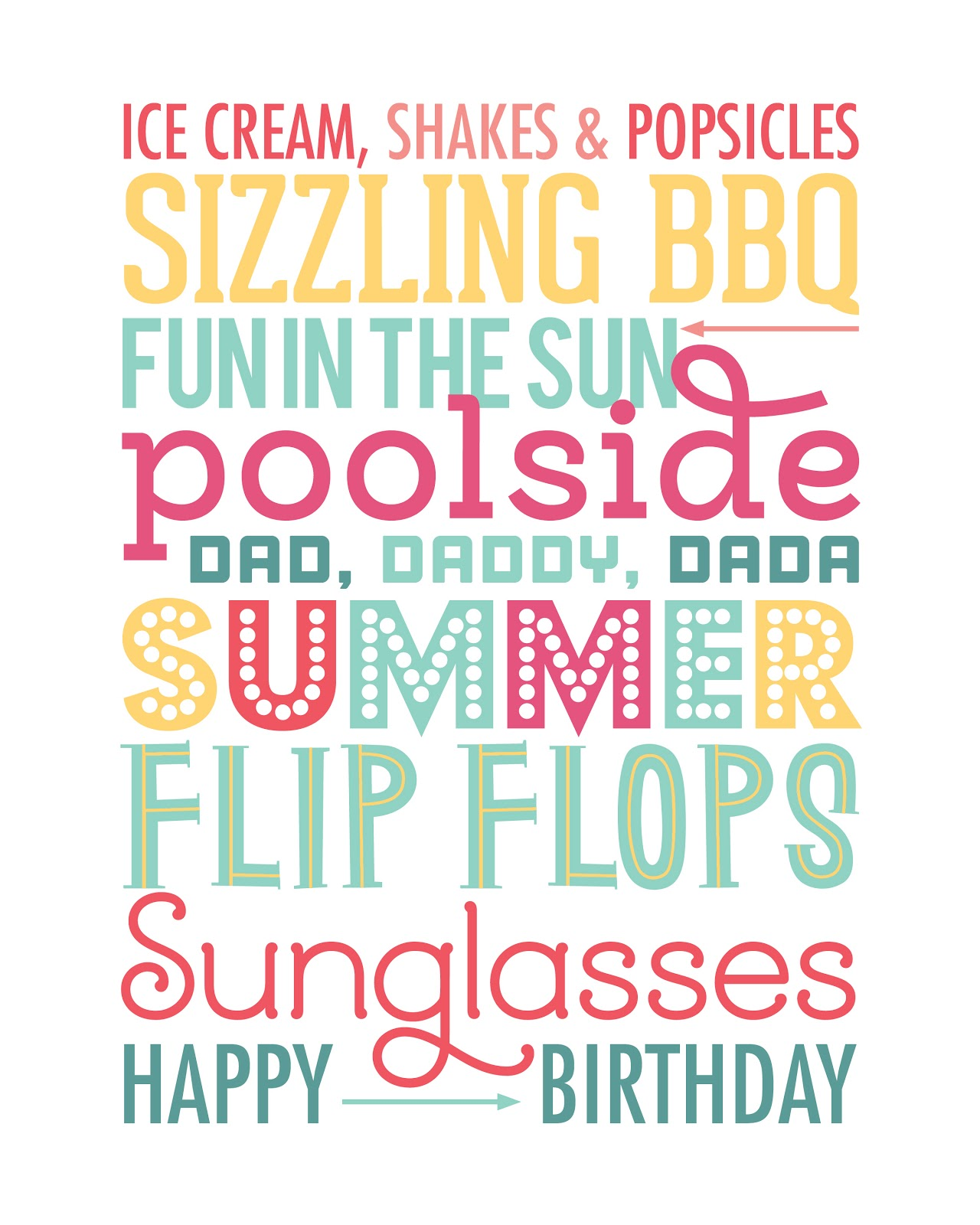 Birthday Quotes For Friends In Spanish : Cm june subway art free printable