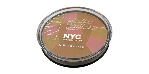 NYC's Color Wheel Mosaic Face Powder