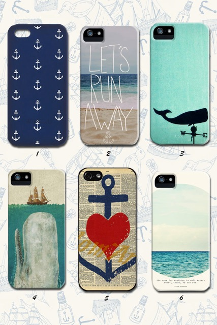 The Salty Hanger :: Phone-y Funeral (iPhone 5 cases)