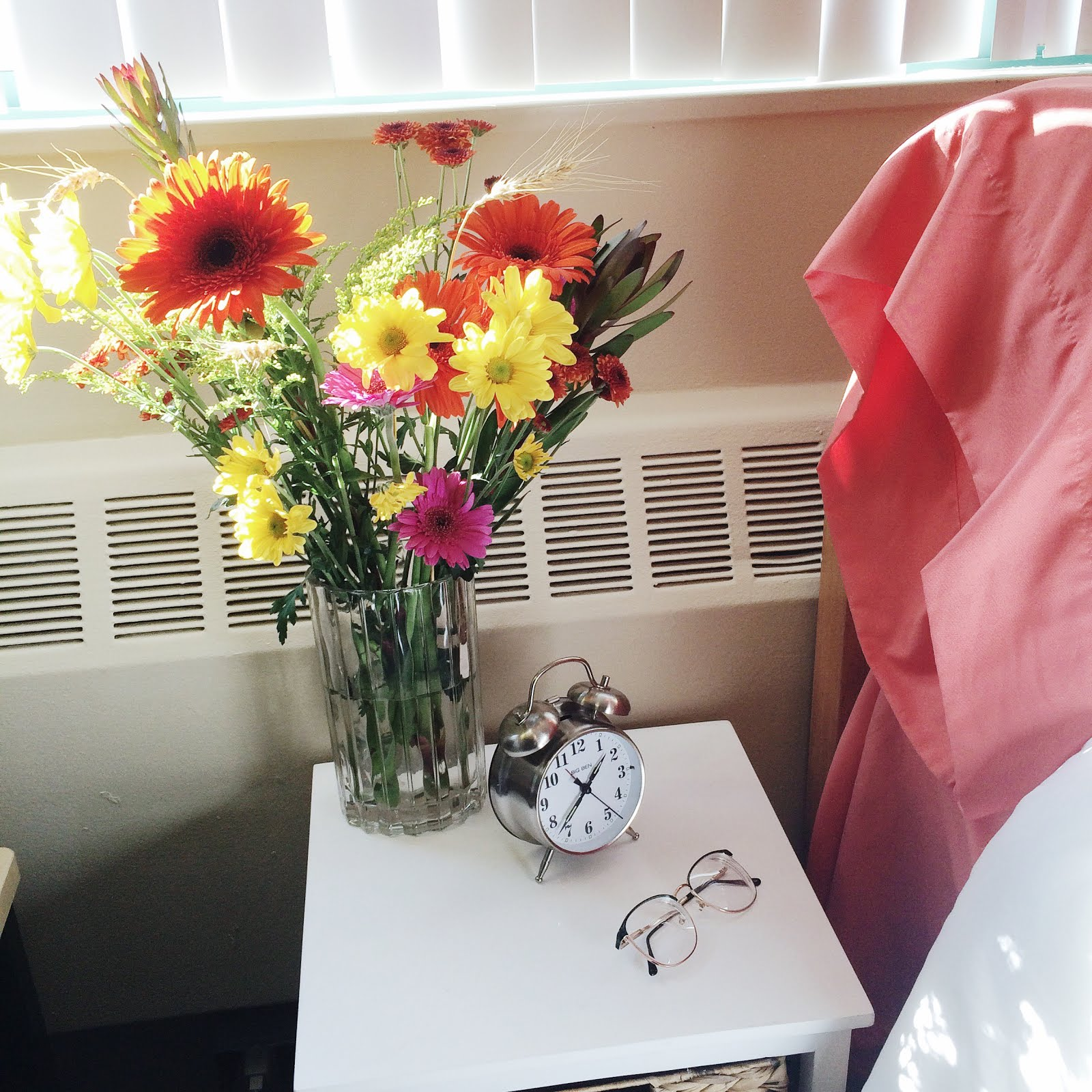 college, college tips, what I learned at college, flowers