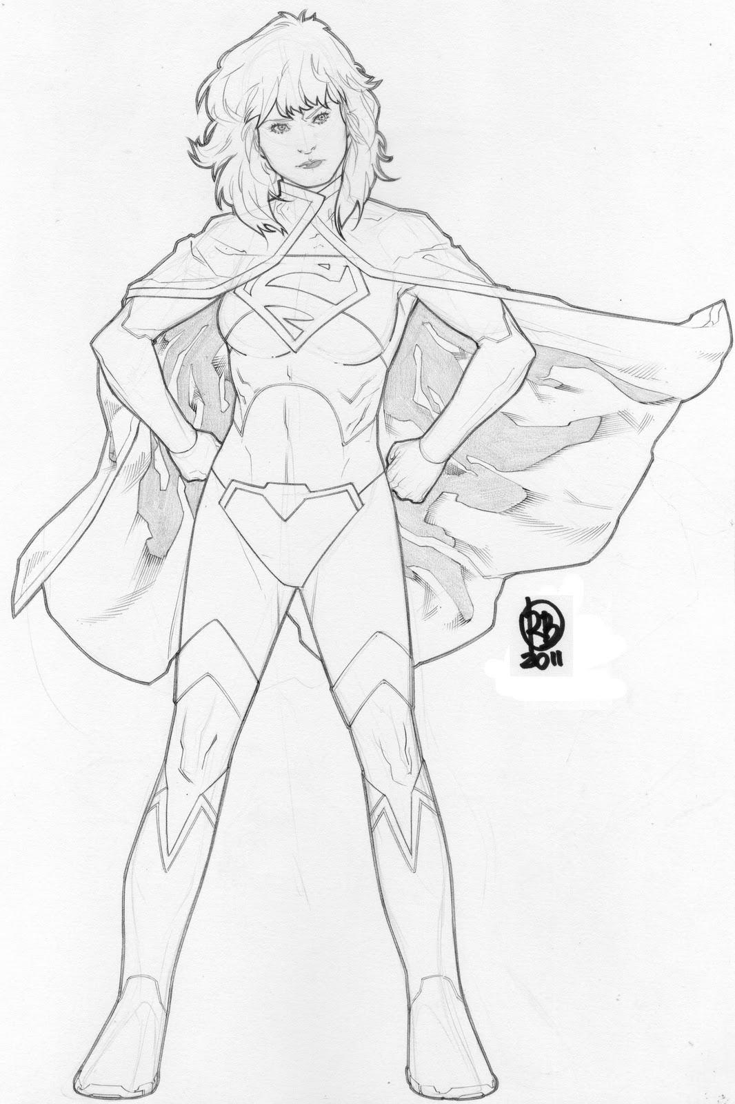 super boy coloring pages - photo#39
