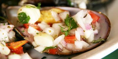 recetas de cocina choritos a la chalaca