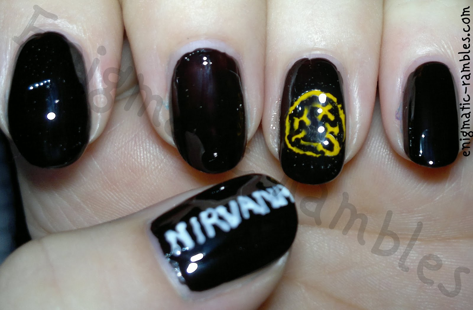 Enigmatic Rambles: ABC Nail Challenge: N is for Nirvana