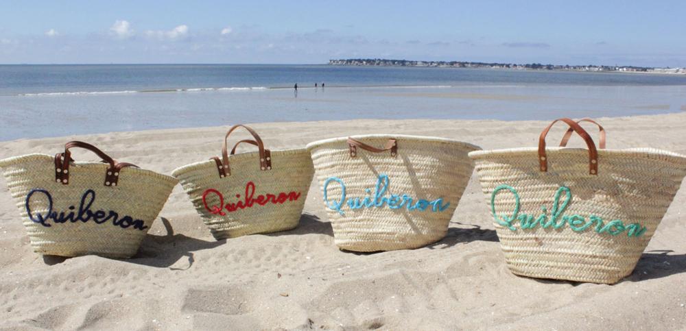 l 39 atelier des petites bauloises paniers de plage. Black Bedroom Furniture Sets. Home Design Ideas