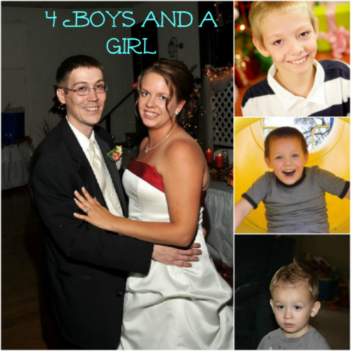 4 Boys and a Girl