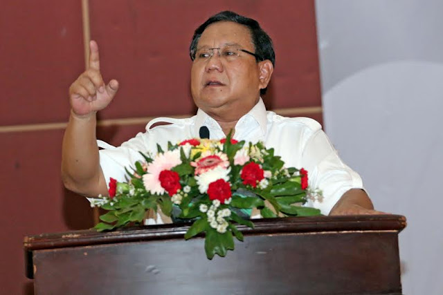 Prabowo Subianto : Aktivis Islam Harus Terjun Dalam Dunia Politik
