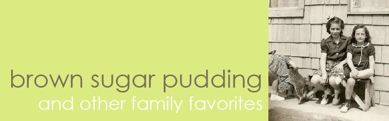 Brown Sugar Pudding