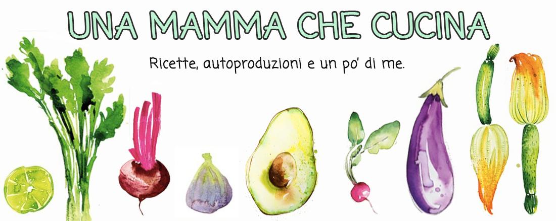 Una mamma che cucina
