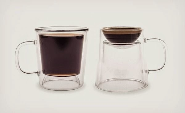 Space Saving Products space-saving 2 in 1 reversible coffee cup - interestings