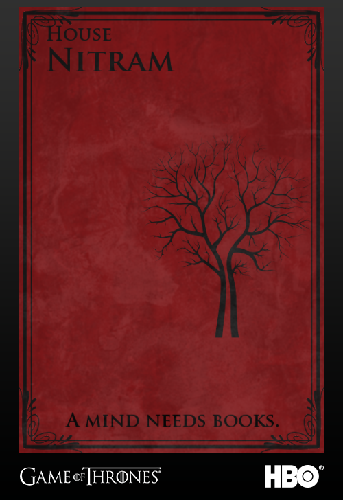 Abcreads Game Of Thrones Heraldry