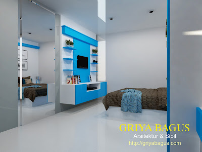 Interior Kamar Tidur Anak Lantai  2 Perumahan CitraGrand Mutiara view 4