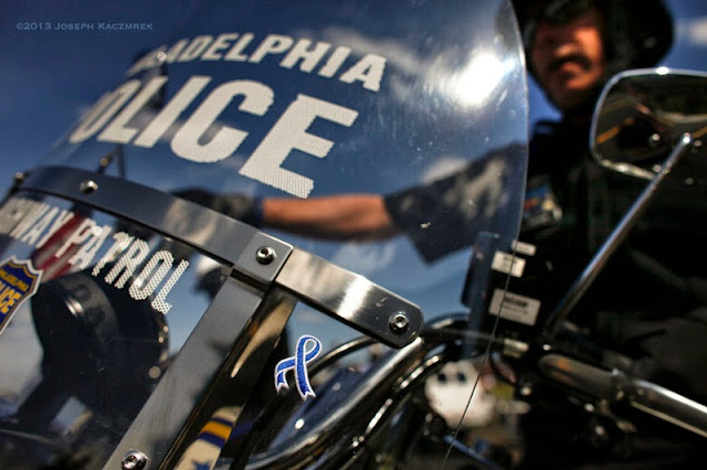 Philadelphia Highway Patrol Motorcycle Drill Team 2013 Hero Thrill