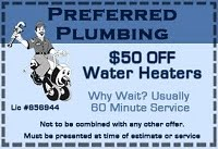 Stockton CA Plumbing Coupon