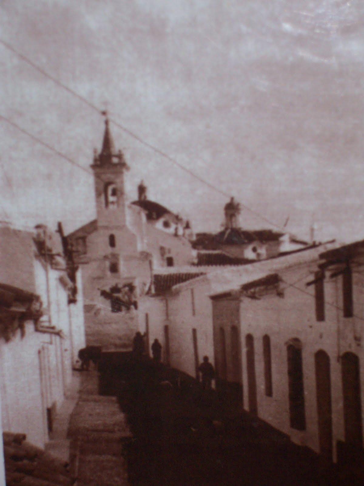 Las callejuelas 75 a os del incendio de la iglesia de rociana - Fotos antiguas de rociana del condado ...