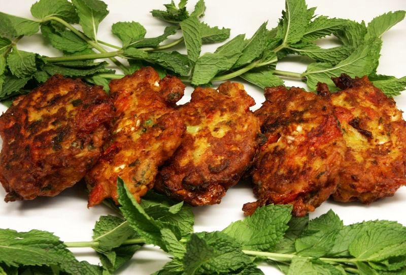 Moveable Feasts: Peter Minakis's Santorini Tomato Fritters