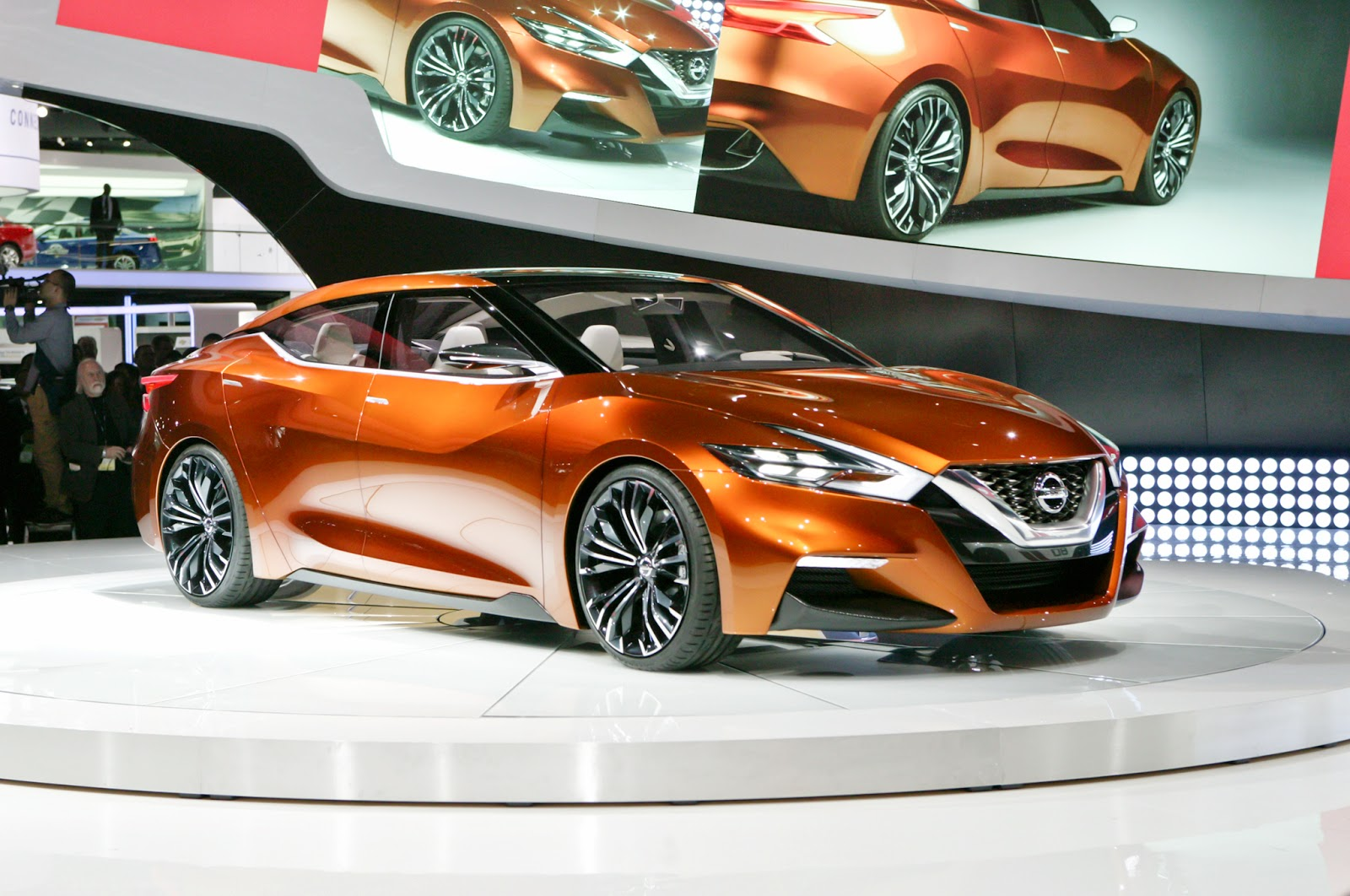 Nissan Calls It The Ssc For Sport Sedan Concept But You Can Just Call It A Preview Of The Next Maxima The So Called Four Door Sports Car