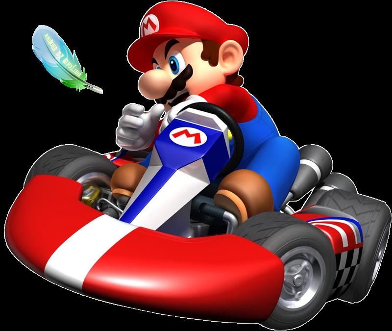 Mario Kart Wii Png Renders - mario