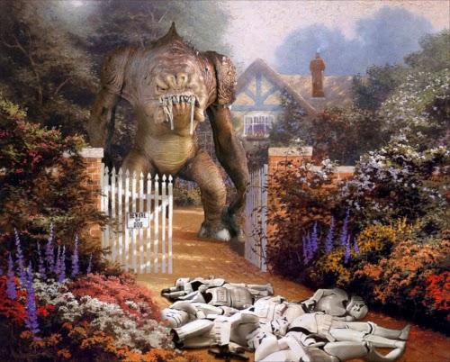 01-Jeff-Bennett-Thomas-Kinkade-Star-Wars-on-Kinkade-Paintings-www-designstack-co