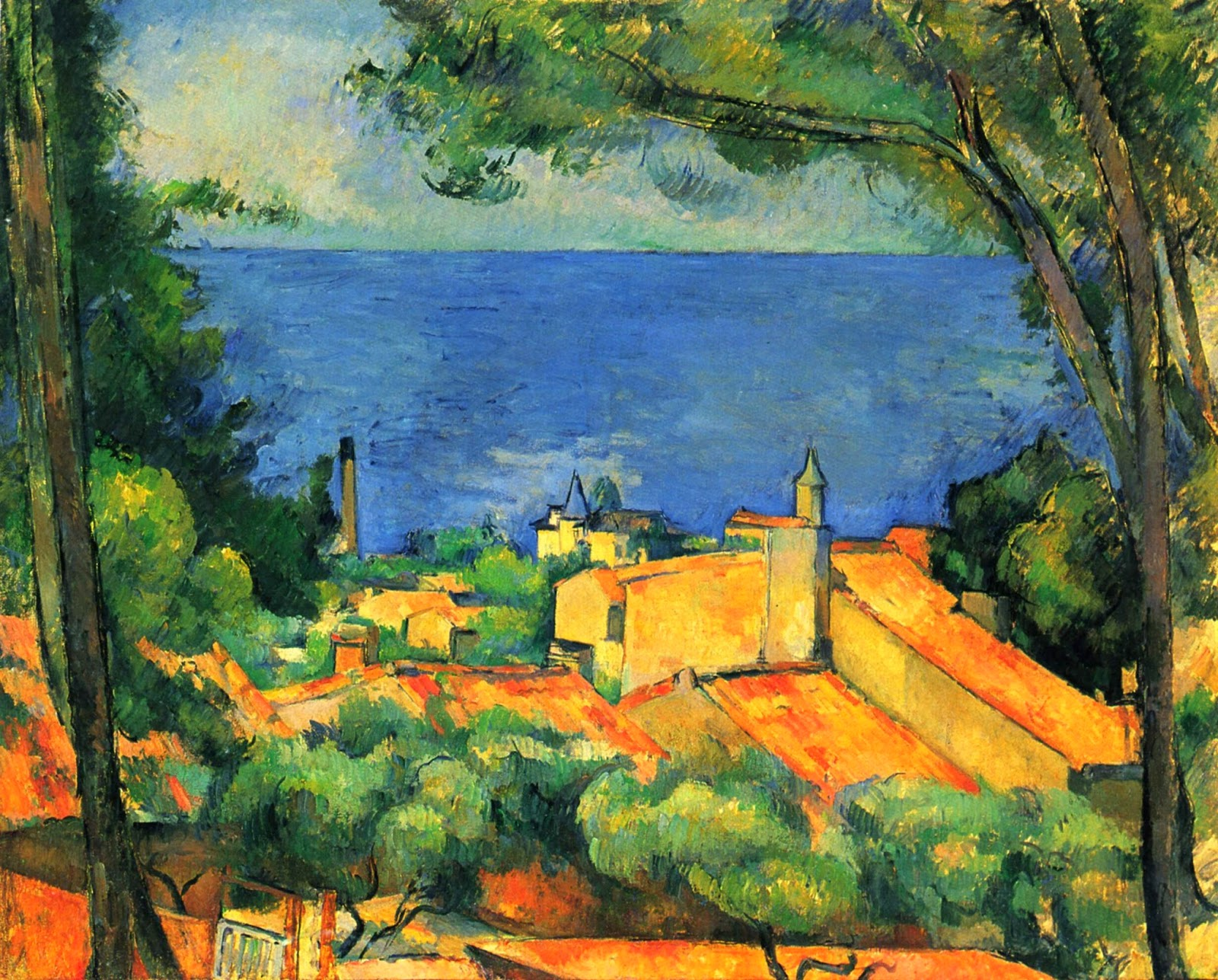 Cezanne landscape picture inspired Hemingway's writing
