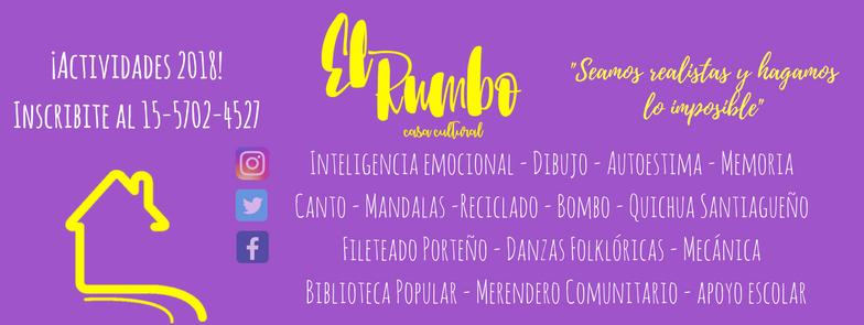 """Casa cultural """"El rumbo"""""""