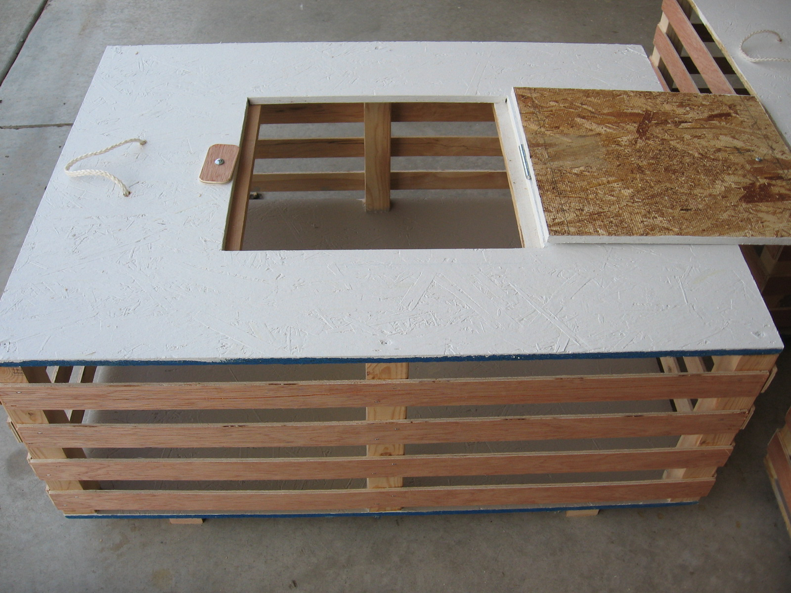 Project freedom ranger transport crate build for Wooden chicken crate plans