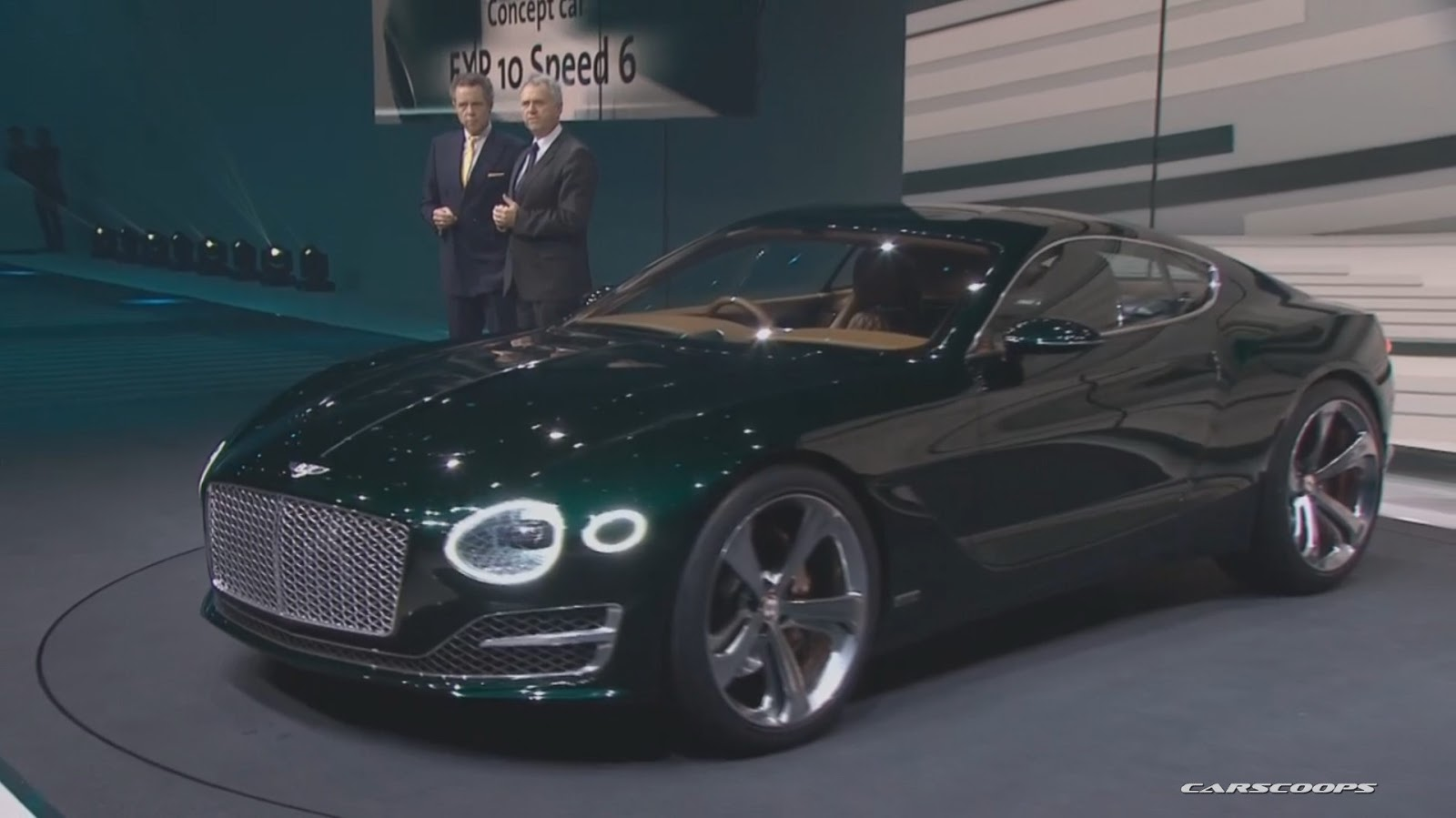 Bentley S New Exp 10 Speed 6 Sports Coupe Concept Hints At