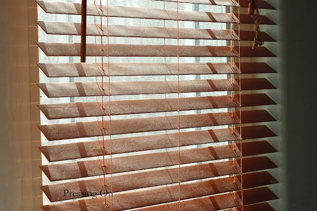 how to put up wooden blinds