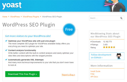 Plugin SEO WordPress Terbaik SEO by Yoast