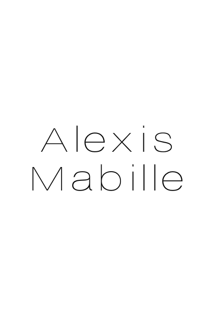 ALEXIS MABILLE - EXLUSIVE INTERVIEW