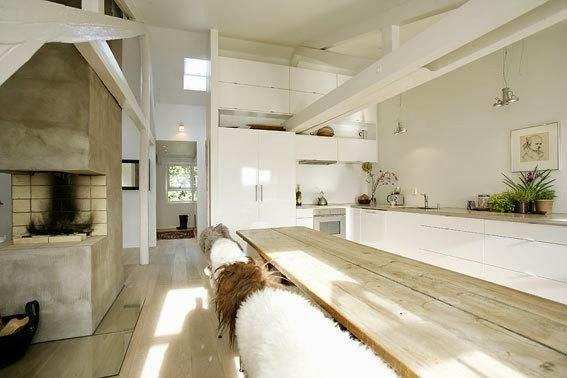 Hus i skogen: Rustikk minimalisme