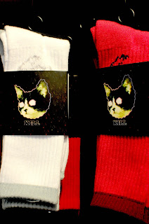 Kitty Socks, Cat Socks, Skateboard Socks
