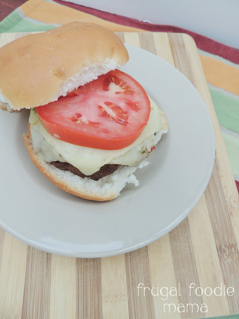 Frugal Foodie Mama: Chipotle Bourbon Ale Burgers {Spiked!}