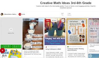 https://www.pinterest.com/LSSchachter/creative-math-ideas-3rd-6th-grade/