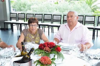 Adelino Martins e esposa