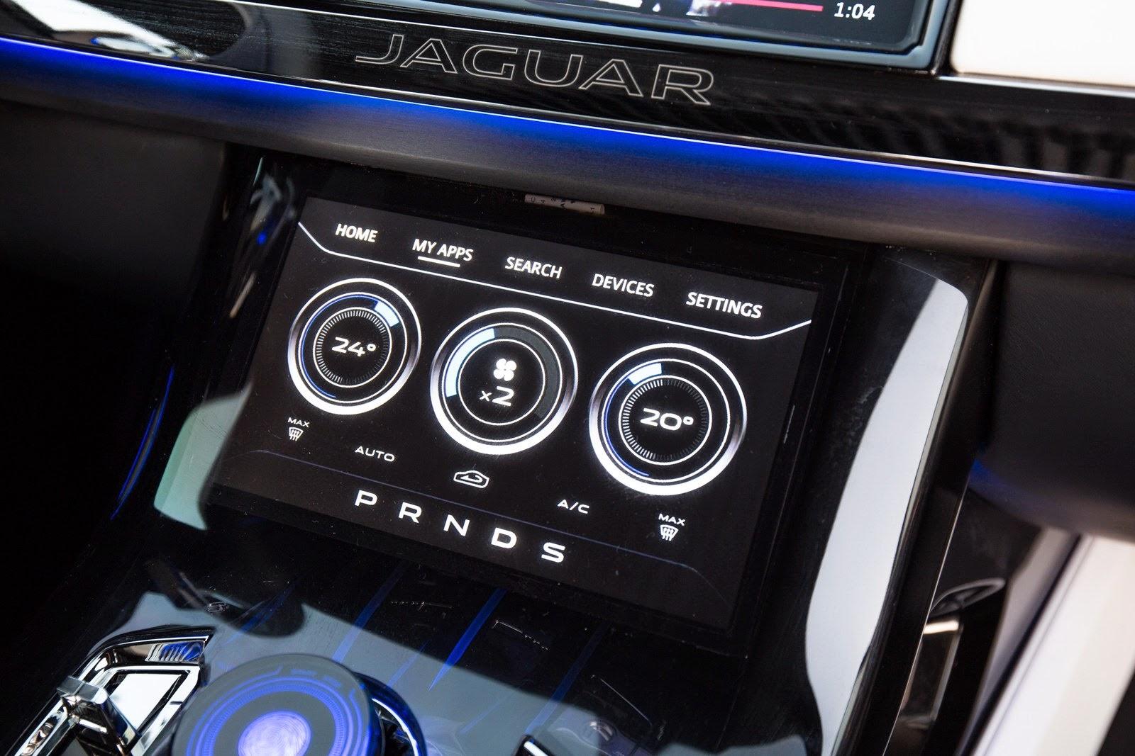 Jaguar-C-X17 computador de bordo